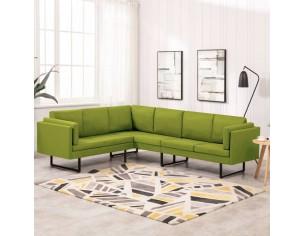 Canapea de colt, verde,...