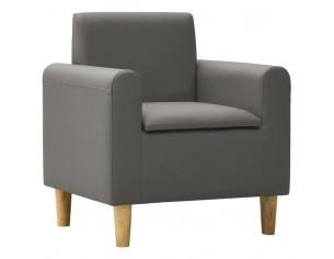 Canapea pentru copii, gri,...