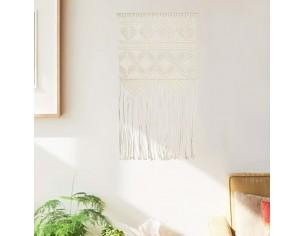 Cuier de perete macrame,...