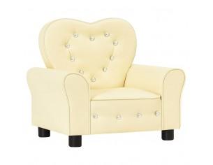 Canapea pentru copii, alb,...