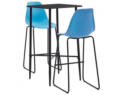 Set mobilier de bar, 3 piese,...