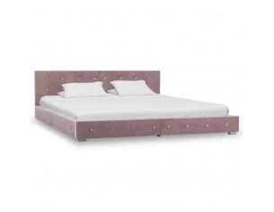 Cadru de pat, roz, 160 x...