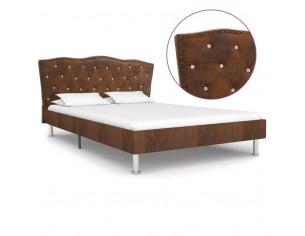 Cadru de pat, maro, 140 x...