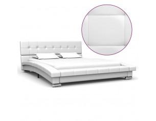 Cadru de pat, alb, 200 x...