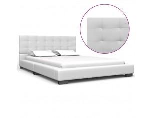 Cadru de pat, alb, 120 x...