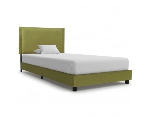 Cadru de pat, verde, 90 x...