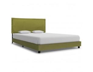 Cadru de pat, verde, 120 x...