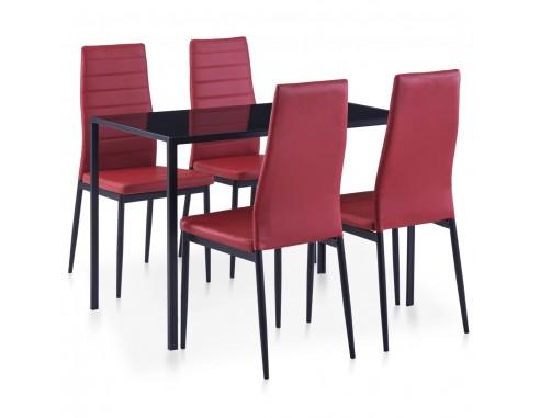 Set mobilier de bucatarie, 5 piese,...