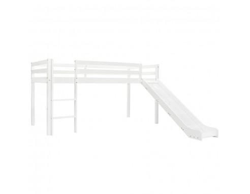 Cadru pat etajat copii cu tobogan...
