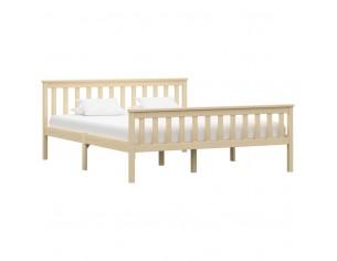 Cadru de pat, lemn deschis,...
