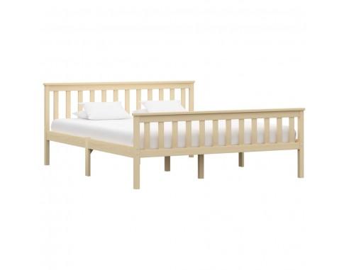 Cadru de pat, lemn deschis, 160 x 200...