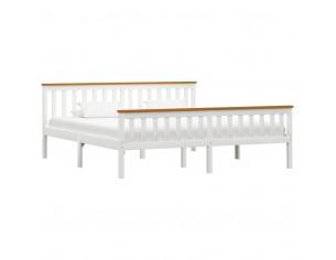 Cadru de pat, alb, 180 x...
