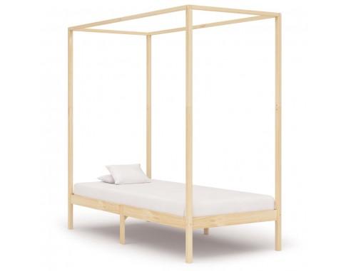Cadru pat cu baldachin, 90x200 cm,...