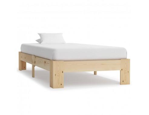 Cadru de pat, 90 x 200 cm, lemn masiv...