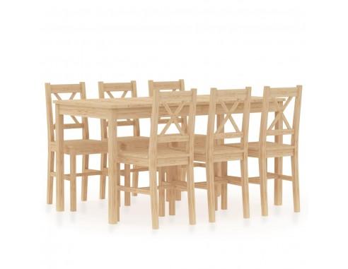 Set mobilier de bucatarie, 7 piese,...