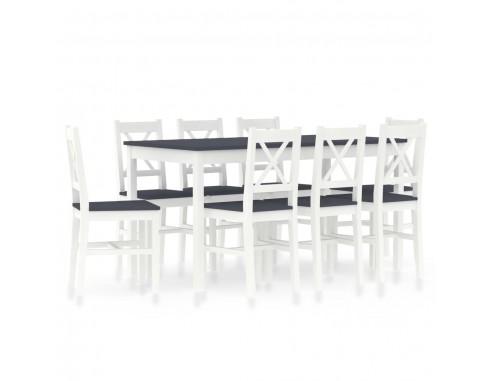 Set mobilier de bucatarie, 9 piese,...