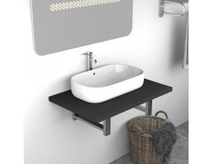 Mobilier de baie, gri, 60 x...