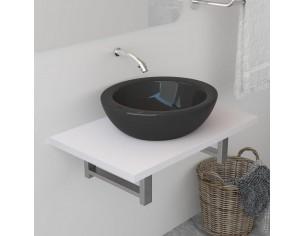 Mobilier de baie, alb, 60 x...