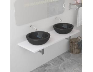 Mobilier de baie, alb, 160...
