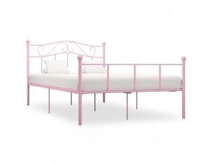 Cadru de pat, roz, 120 x...