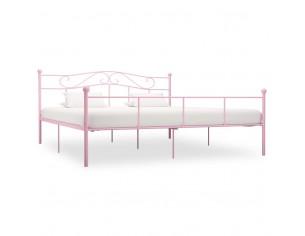 Cadru de pat, roz, 200 x...