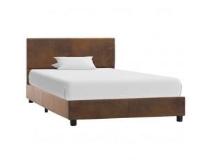 Cadru de pat, maro, 90 x...