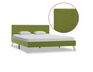 Cadru de pat, verde, 140 x...