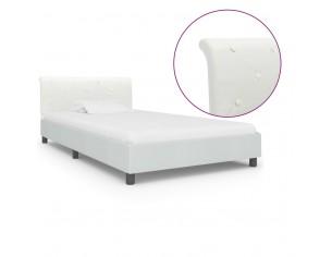 Cadru de pat, alb, 90 x 200...