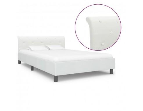 Cadru de pat, alb, 120 x 200 cm,...