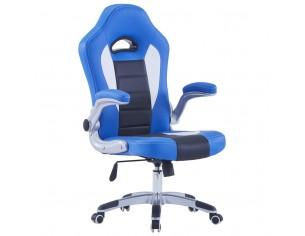 Scaun de gaming, albastru,...