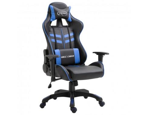 Scaun pentru jocuri, albastru, piele...