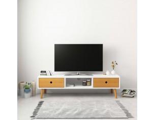 Comoda TV, alb, 120 x 35 x...