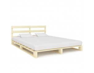 Cadru de pat din paleti,...