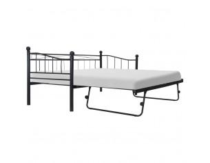 Cadru de pat, negru,...