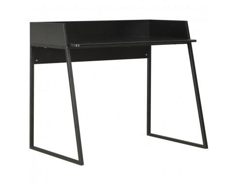 Birou, negru, 90 x 60 x 88 cm