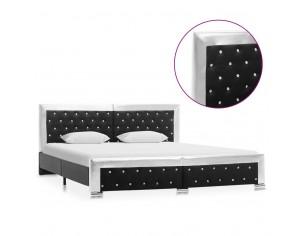 Cadru de pat, negru, 180 x...
