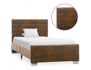 Cadru de pat, maro, 100 x...