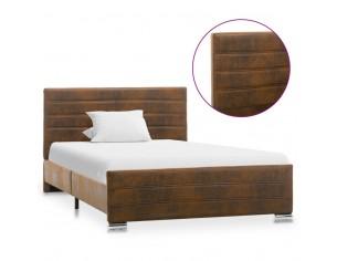 Cadru de pat, maro, 120 x...