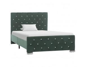 Cadru de pat, verde inchis,...