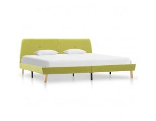 Cadru de pat, verde, 160 x...