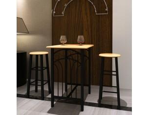 Set masa si scaune, lemn...
