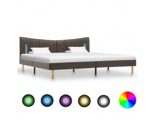 Cadru de pat cu LED,...