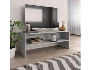 Comoda TV, gri beton, 100 x...