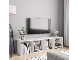 Biblioteca/Comoda TV, alb,...