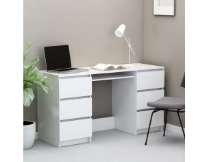 Birou de scris, alb, 140 x...