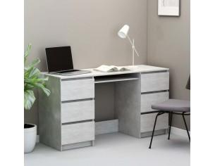 Birou de scris, gri beton,...