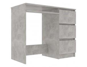 Birou, gri beton, 90 x 45 x...