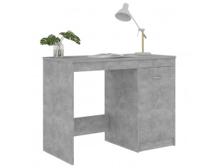 Birou, gri beton, 100 x 50...