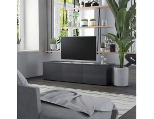 Comoda TV, gri, 120 x 34 x...
