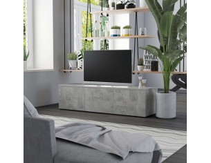 Comoda TV, gri beton, 120 x...